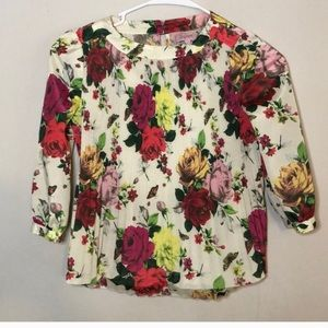 Baker by Ted Baker | Girls Floral Top Shirt 8